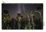 Sunflower Field At Night Carry-all Pouch