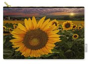 Sunflower Field Forever Carry-all Pouch
