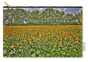 Sunflower Fields Ford World Headquarters Dearborn Mi Carry-all Pouch