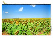Sunflower Fields Forever Carry-all Pouch