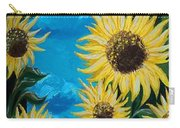 Sunflower Fun Carry-all Pouch