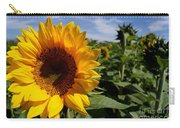 Sunflower Glow Carry-all Pouch
