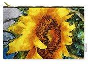 Sunflower Heart Carry-all Pouch