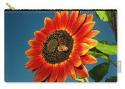 Sunflower Honey Bee Carry-all Pouch