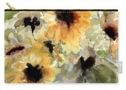 Sunflower Impressions Carry-all Pouch