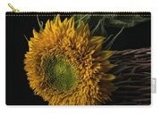 Sunflower In A Basket Carry-all Pouch
