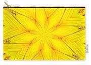 Sunflower Kaleidoscope 1 Carry-all Pouch