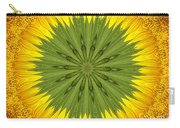 Sunflower Kaleidoscope 3 Carry-all Pouch