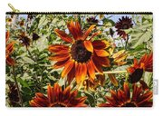 Sunflower Layers Carry-all Pouch by Kerri Mortenson