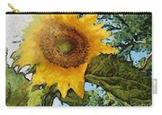 Sunflower Light Carry-all Pouch