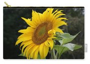 Sunflower Looking To The Sky Carry-all Pouch