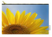 Sunflower Looking Up Carry-all Pouch