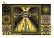 Sunflower Moon Redux Carry-all Pouch