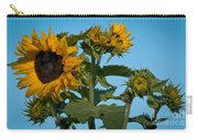 Sunflower Morning Carry-all Pouch