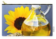 Sunflower Oil Bottle Carry-all Pouch by Elena Elisseeva