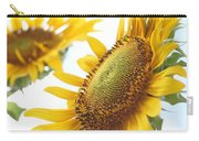Sunflower Perspective Carry-all Pouch by Kerri Mortenson