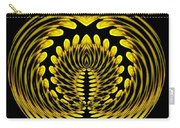 Sunflower Polar Coordinate Effect 1 Carry-all Pouch