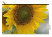 Sunflower Portrait Carry-all Pouch