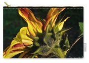 Sunflower Profile Carry-all Pouch