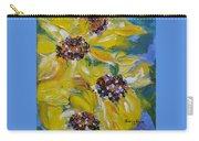 Sunflower Quartet Carry-all Pouch