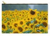 Sunflower Rain Sussex Nj Carry-all Pouch