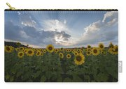 Sunflower Rays Augusta Nj Carry-all Pouch