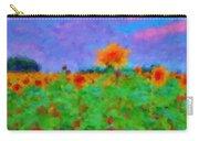 Sunflower Rhapsody Carry-all Pouch