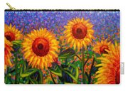 Sunflower Scape Carry-all Pouch