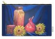 Sunflower Serenade Carry-all Pouch