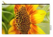 Sunflower Side Portrait Carry-all Pouch
