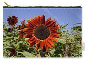 Sunflower Sky Carry-all Pouch by Kerri Mortenson