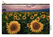 Sunflower Sunset II Carry-all Pouch