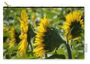 Sunflower Symphony Carry-all Pouch