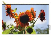 Sunflower Symphony Carry-all Pouch by Karen Wiles