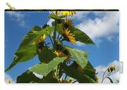 Sunflower Tall Beauty Carry-all Pouch