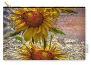 Sunflower Trio Carry-all Pouch