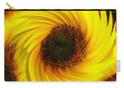 Sunflower Twirl Carry-all Pouch