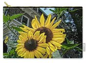 Sunflower Under The Gables Carry-all Pouch