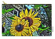Sunflower Under The Gables Too Carry-all Pouch