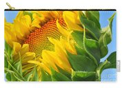 Sunflower Unfolding  Carry-all Pouch