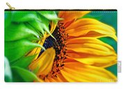 Sunflower Volunteer Good Morning Carry-all Pouch