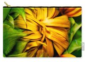 Sunflower Volunteer Carry-all Pouch