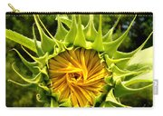 Sunflower Whirl Carry-all Pouch