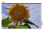 Sunflower With Busy Bees Carry-all Pouch