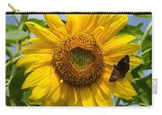 Sunflower With Butterfly Carry-all Pouch