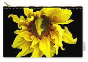 Sunflower With Curlicues Effect Carry-all Pouch