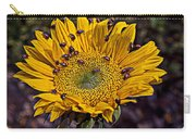 Sunflower With Ladybugs Carry-all Pouch