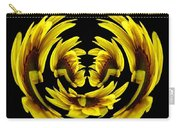 Sunflower With Warp And Polar Coordinates Effects Carry-all Pouch
