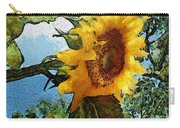 Sunflower World Carry-all Pouch