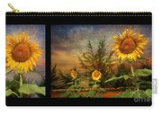 Sunflowers Carry-all Pouch by Adrian Evans